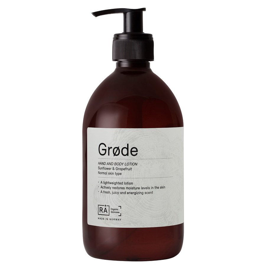 RÅ Organic Skincare Grøde Hand And Body Lotion (500 ml)