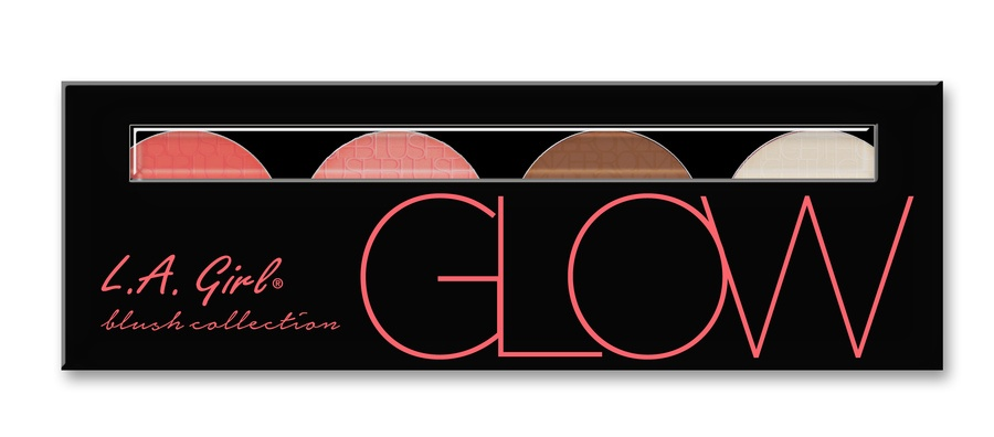 L.A. Girl Cosmetics Blush Collection 22, Glow GBL571 (22 g)