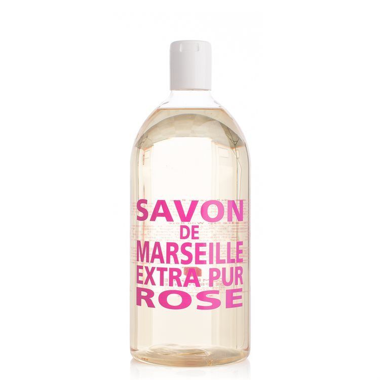Compagnie De Provence Liquid Soap Refill Wild Rose 1000 ml