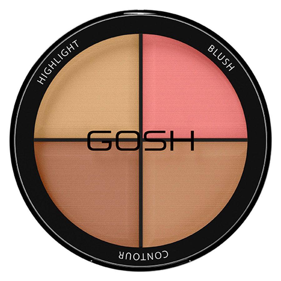 GOSH Contour'n Strobe Kit, #002 Medium (15 g)