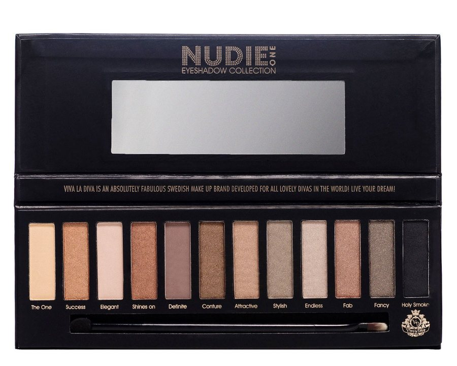 Viva La Diva Eyeshadow Collection Nudie One