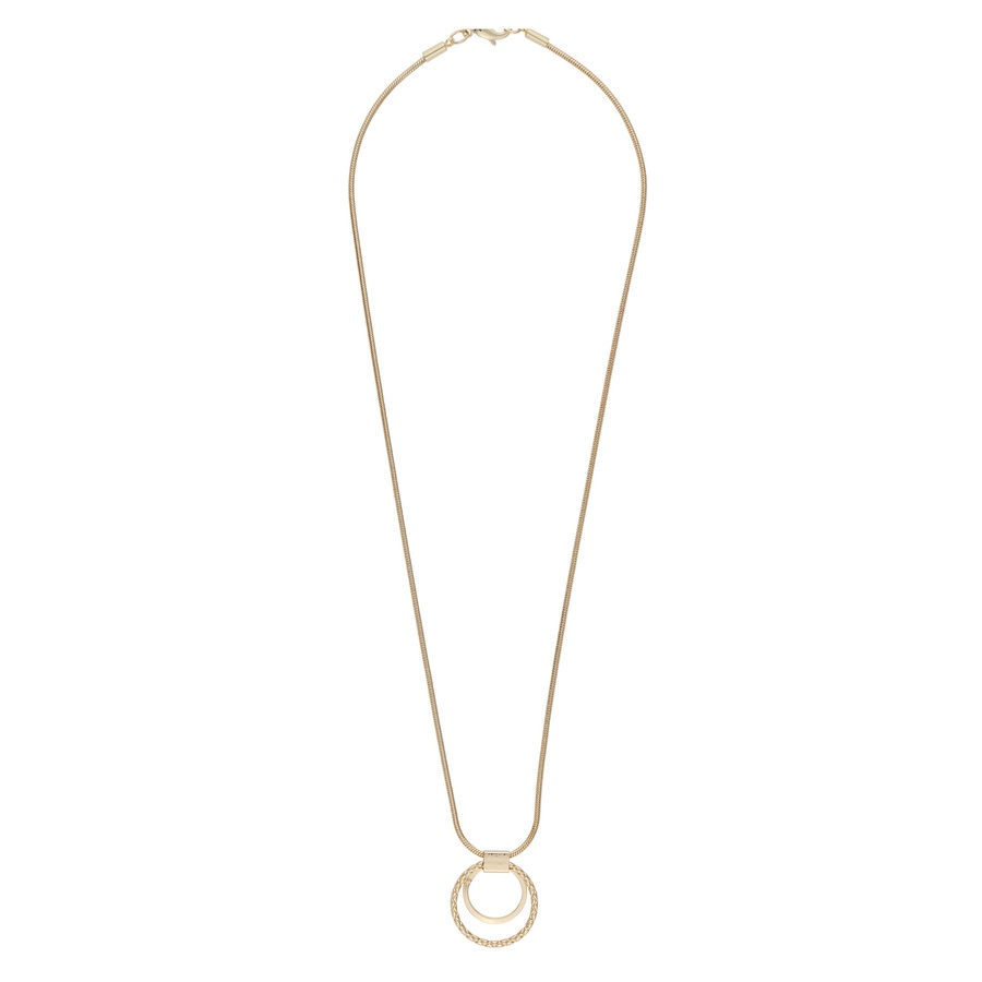 Snö Of Sweden Capella Pendant Necklace, Gold (42 cm)