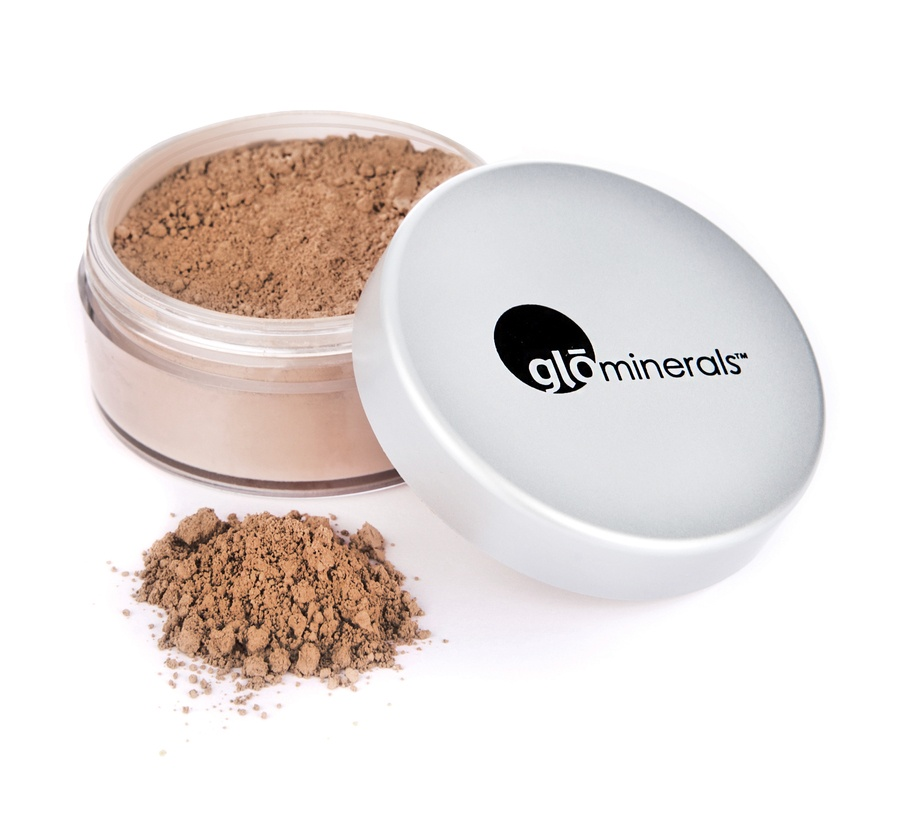 GloMinerals gloLoose Base Puder Foundation (10,5 g), Natural Medium
