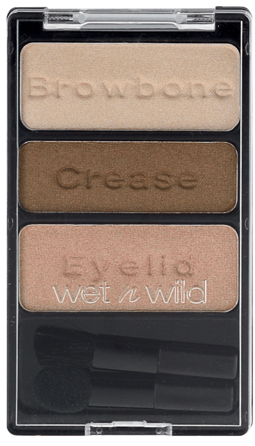 Wet n Wild Color Icon Lidschatten Trio, Walking on Eggshells E380B