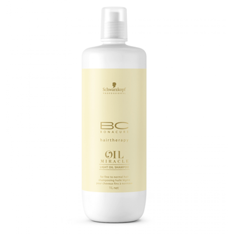 Schwarzkopf BC Bonacure Oil Miracle Light Shampoo (1000 ml)