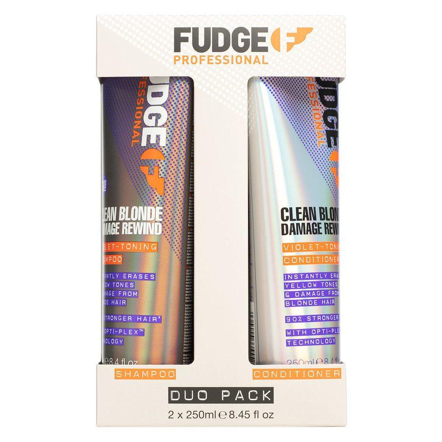 Fudge Clean Blonde Damage Rewind Toning-Violet Duo