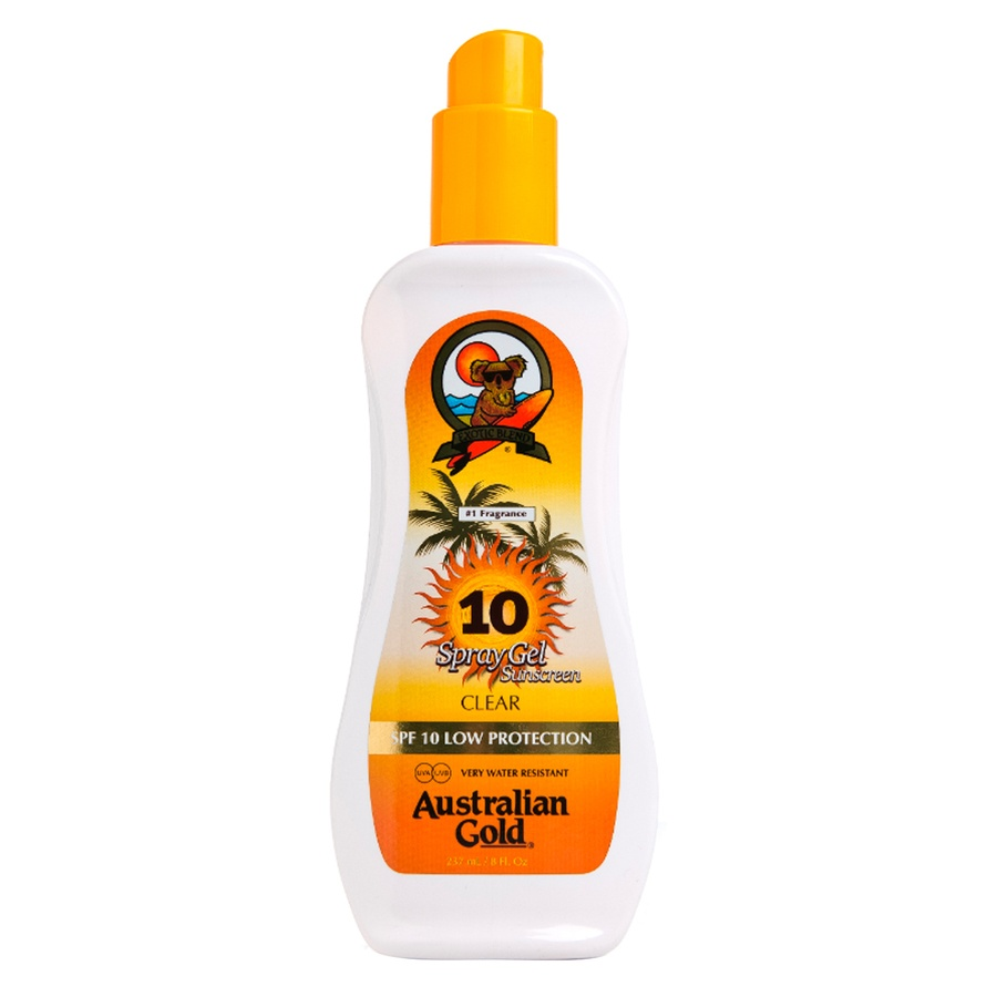 Das Australian Gold SPF 10 Spray Gel (237 ml)
