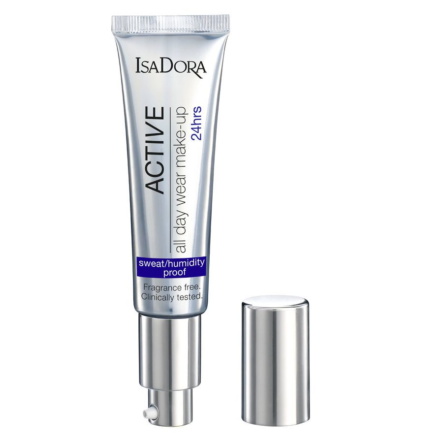 IsaDora Active All Day Wear Makeup, 16 Warm Beige (35 ml)