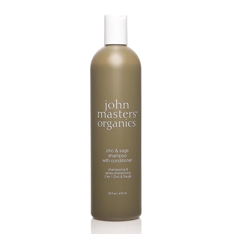 John Masters Organics Zinc & Sage Shampoo & Conditioner (473 ml)