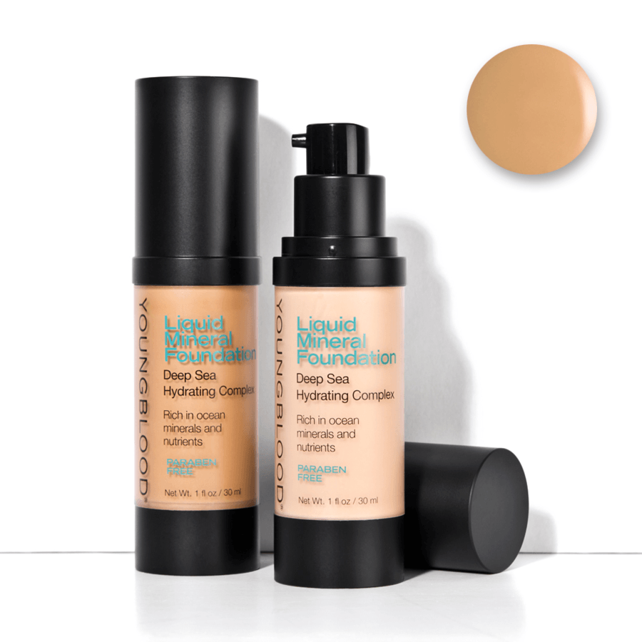 Youngblood Liquid Mineral Foundation (30 ml), Golden Tan