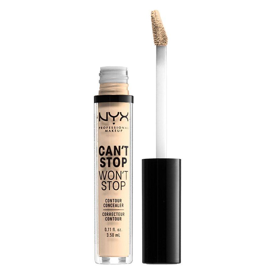 NYX Professional Makeup Can't Stop Won't Stop Contour Concealer (3,5ml), Pale
