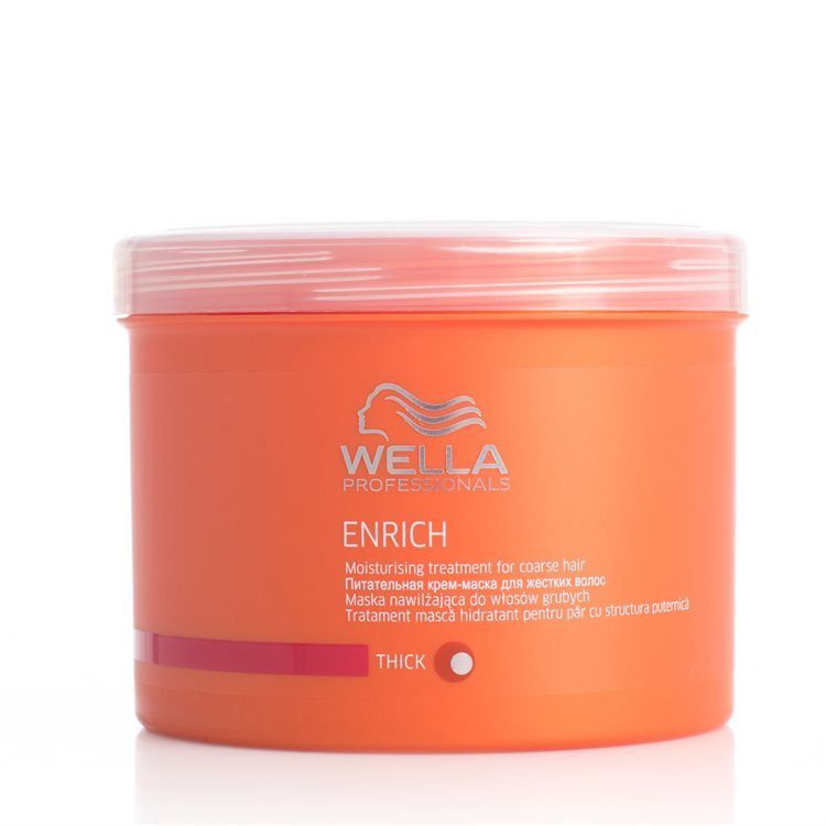 Wella Professionals Enrich Moisturizing Treatment Dickes/kräftiges Haar (500 ml)