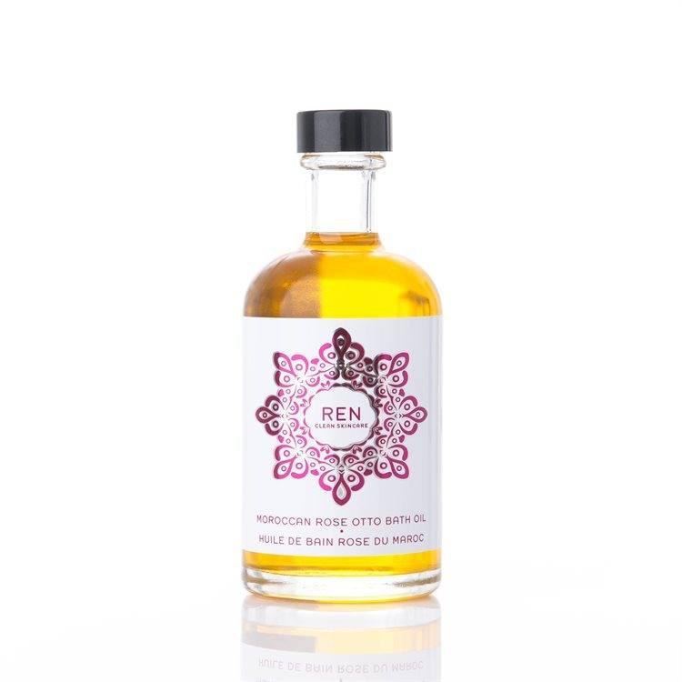 REN Moroccan Rose Otto Badeöl (110 ml)