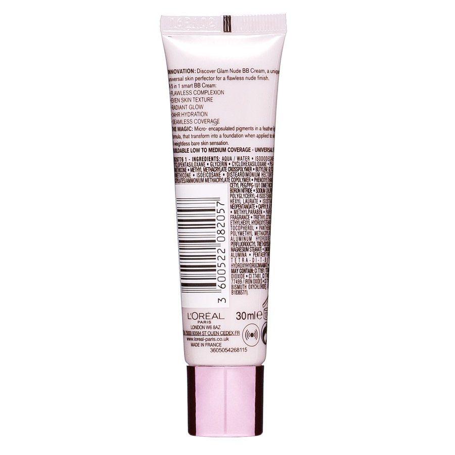 L'Oréal Paris Nude Magique BB Cream (30 ml), Light to Medium Skin Tone