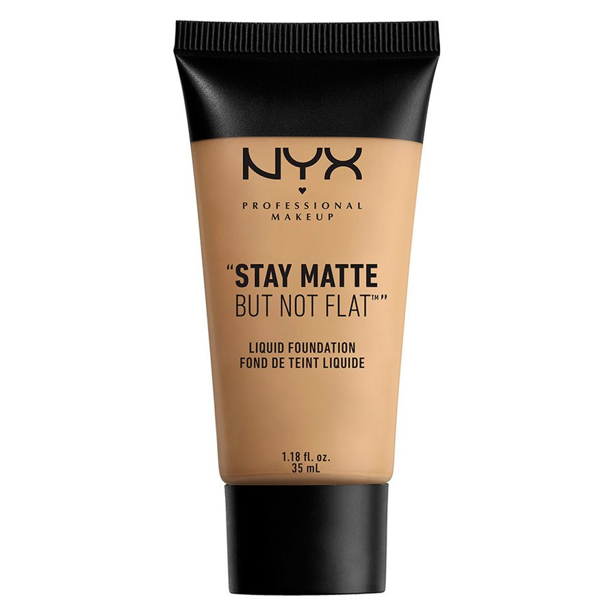 NYX Professional Makeup Stay Matte But Not Flat Liquid Foundation Medium Beige 35ml SMF06