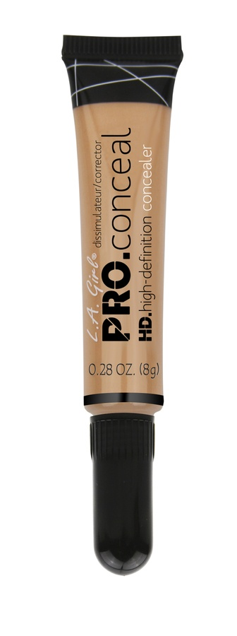 L.A. Girl Cosmetics Pro Conceal HD Concealer, Warm Honey GC982 (8g)