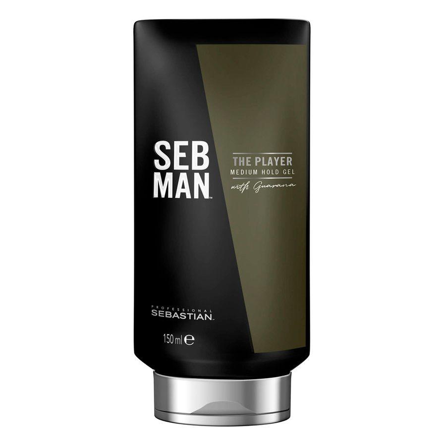 Seb Man The Player Medium Hold Gel 150ml
