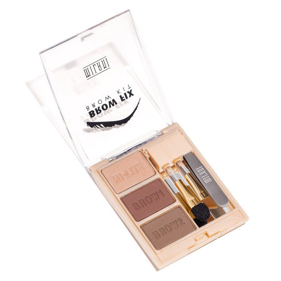 Milani Brow Fix Kit, Dark (7g)