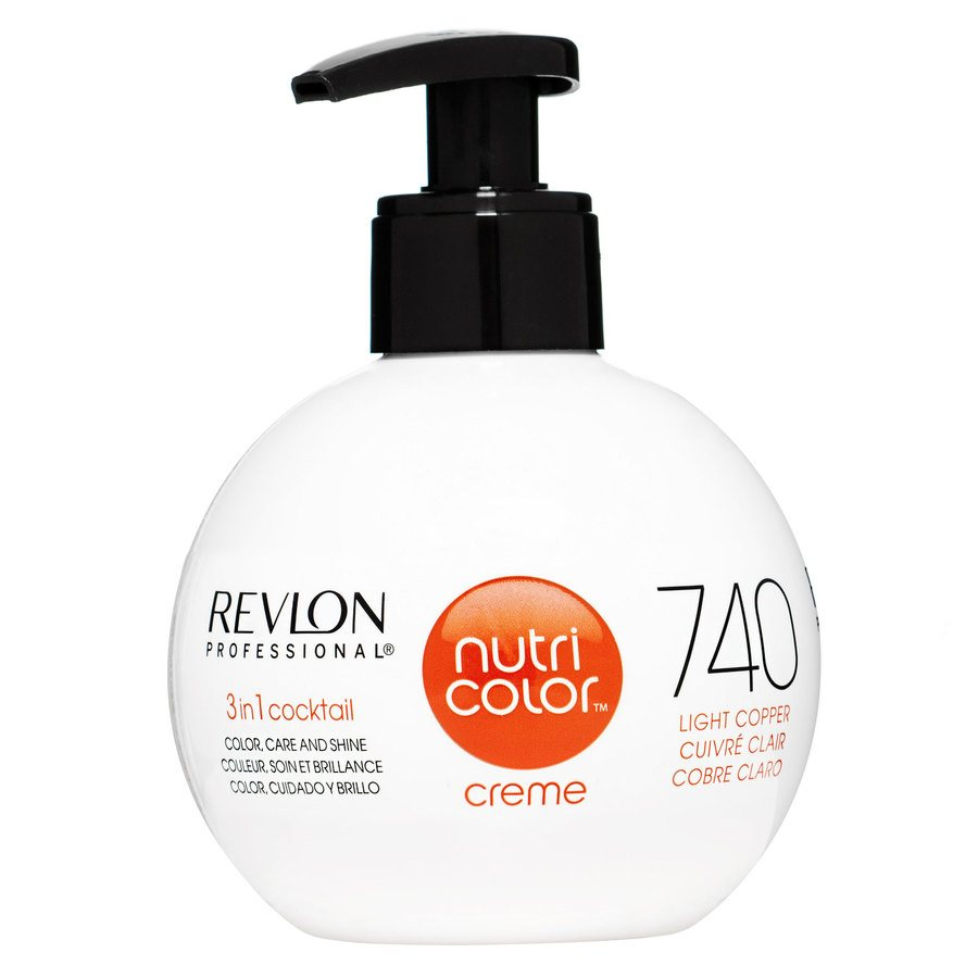 Revlon Professional Nutri Color Creme, #740 Copper (270 ml)