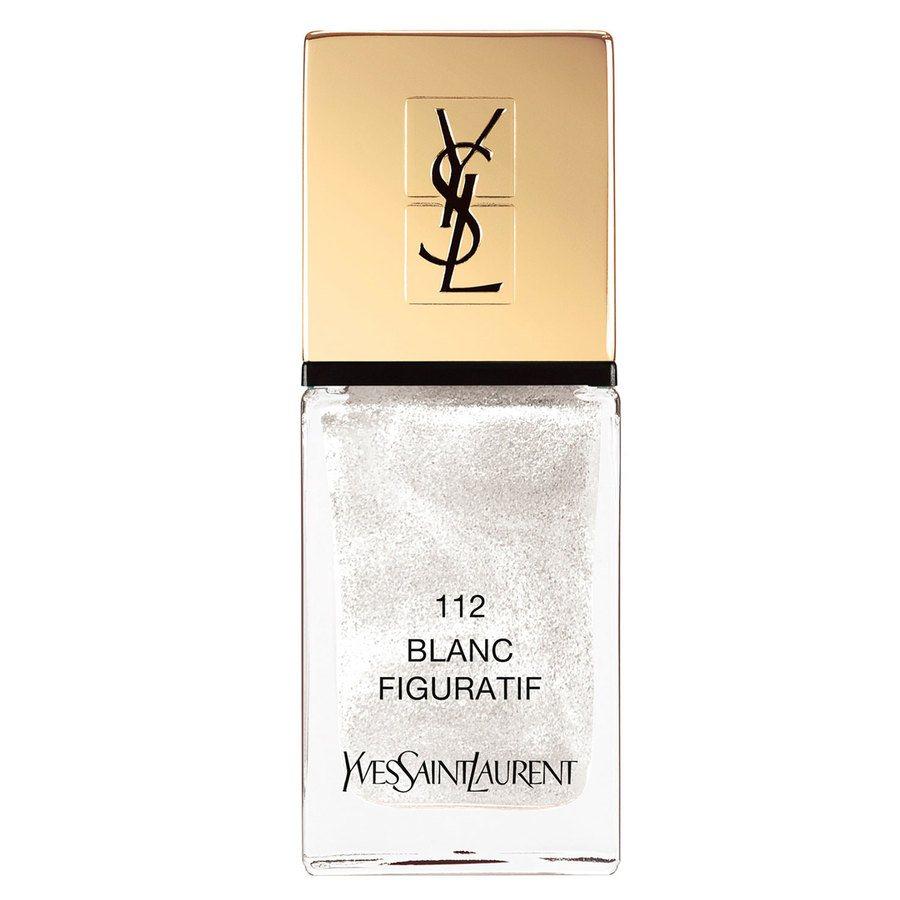 Yves Saint Laurent La Laque Couture Nail Lacquer, #112 Blanc Figuratif