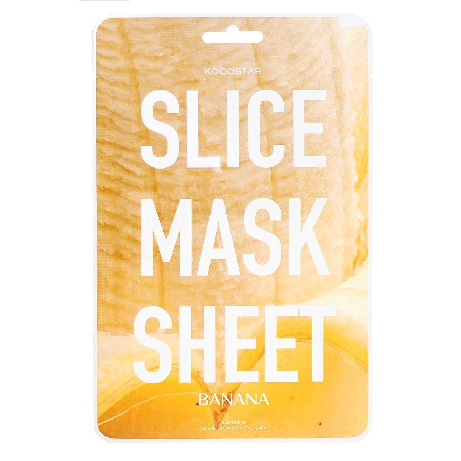 Kocostar Slice Mask Sheet, Banana