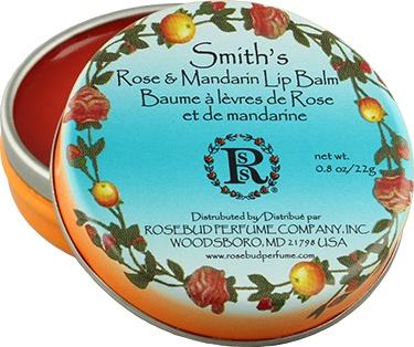 Rosebud Lip Balm, Rose & Mandarin