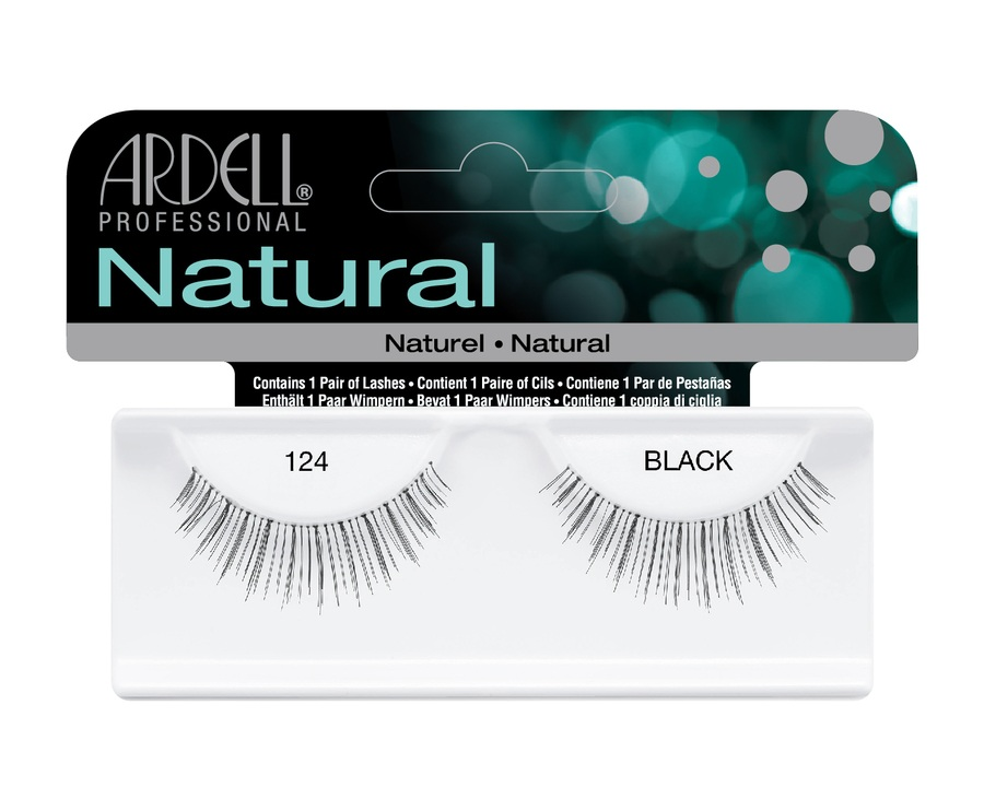 Ardell Natural Fashion Lashes, 124 Schwarz