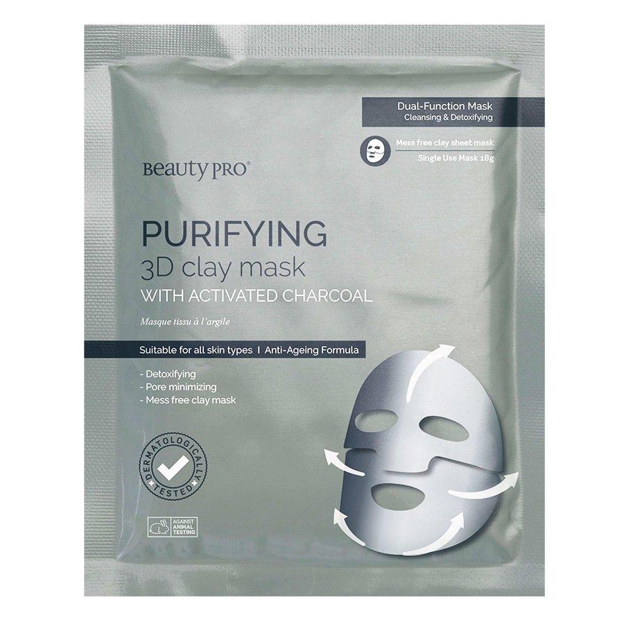 Beautypro Purifying Clay Mask BeautyPro 3D Sheet 18g