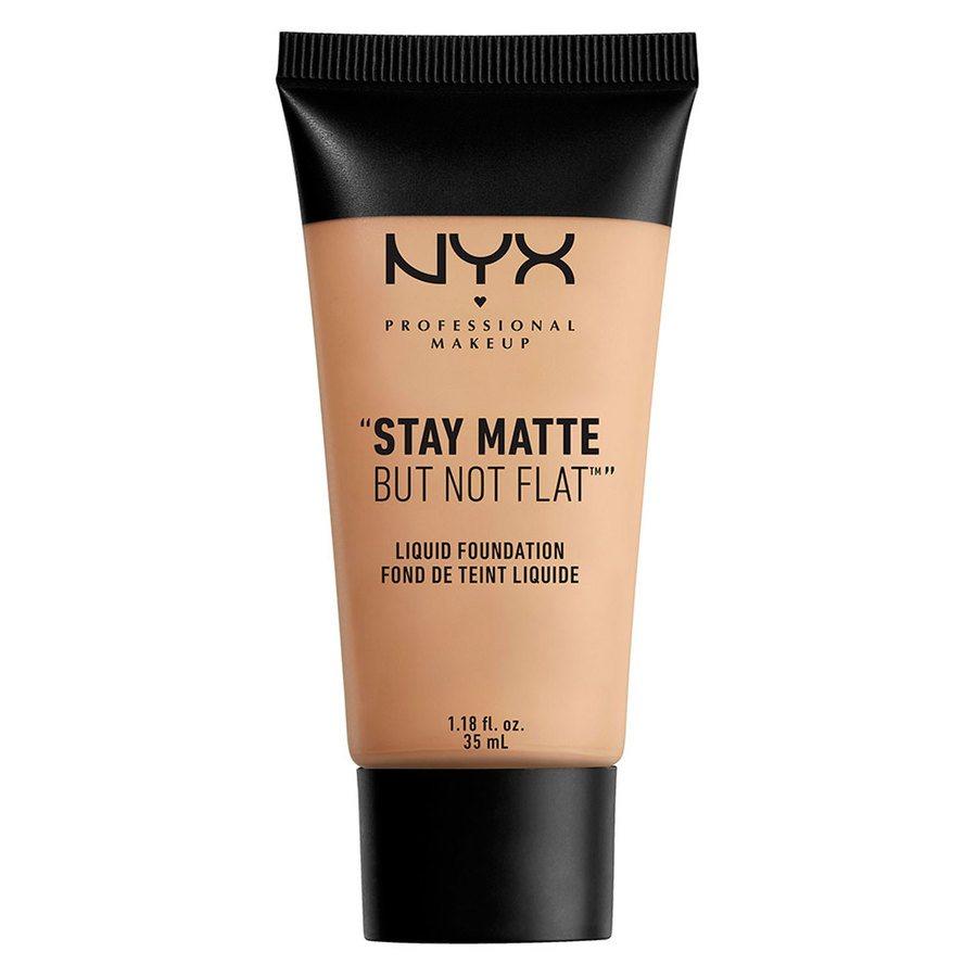 NYX Professional Makeup Stay Matte But Not Flat Liquid Foundation Soft Beige 35ml SMF05
