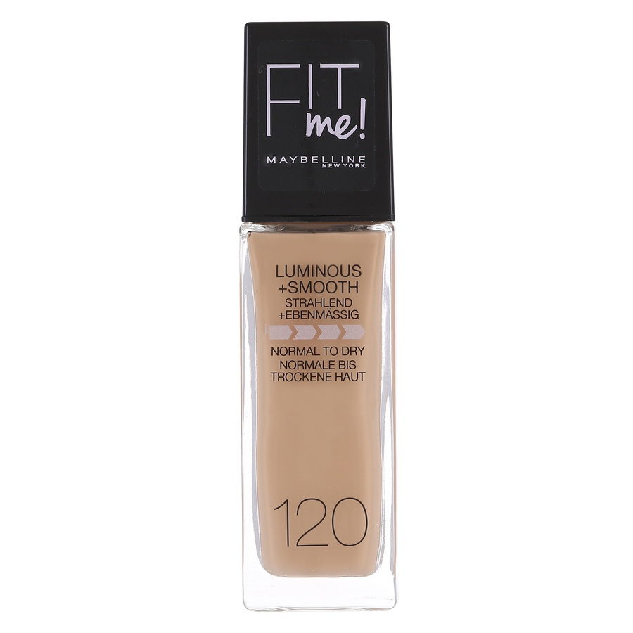 Maybelline Fit Me Liquid Foundation, Classic Ivory 120 (30 ml)