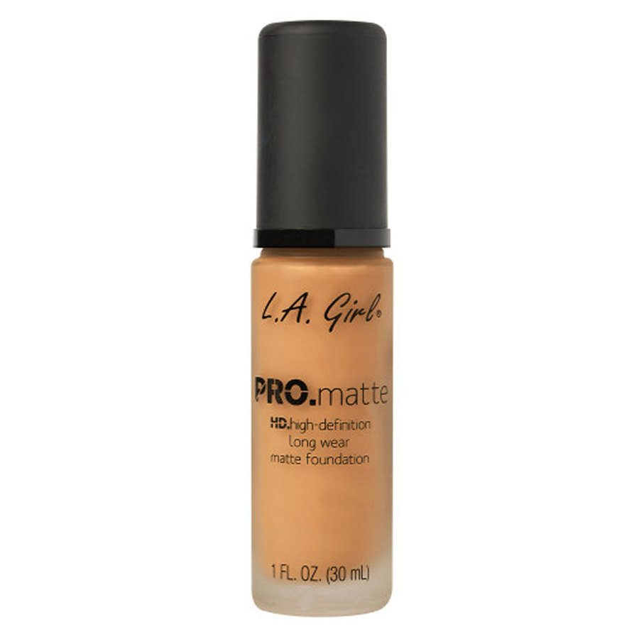 L.A. Girl Cosmetics Pro. Matte Foundation, Golden Bronze (30 ml)