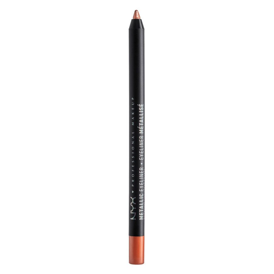 NYX Professional Makeup Metallic Eyeliner, Copper