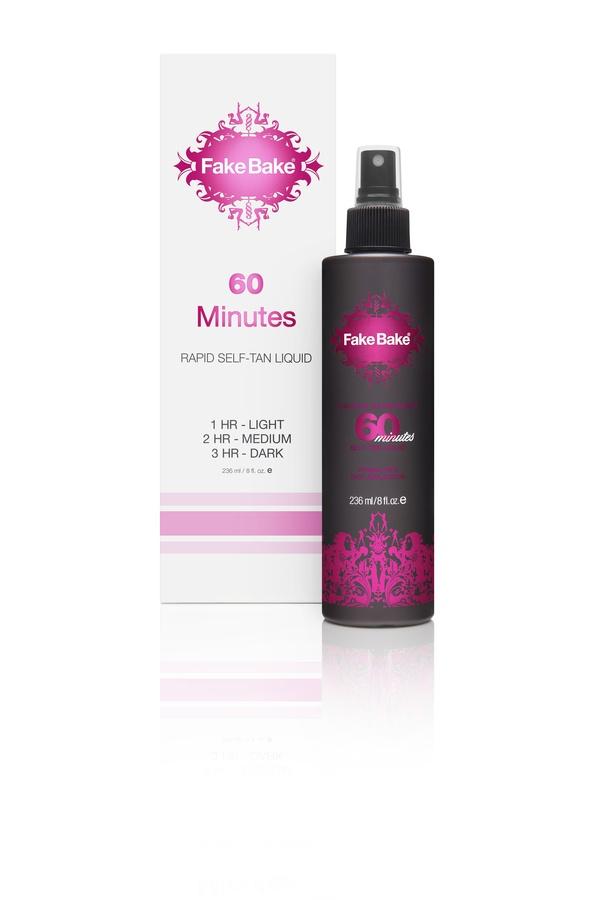 Fake Bake 60 Minutes Self-Tan Liquid & Professional Mitt (236ml)