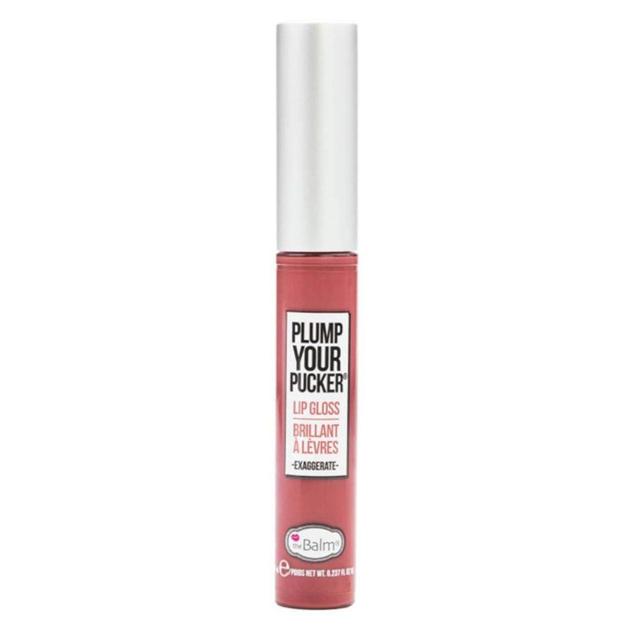 theBalm Plump Your Pucker Lip Gloss, Exaggerate 7ml