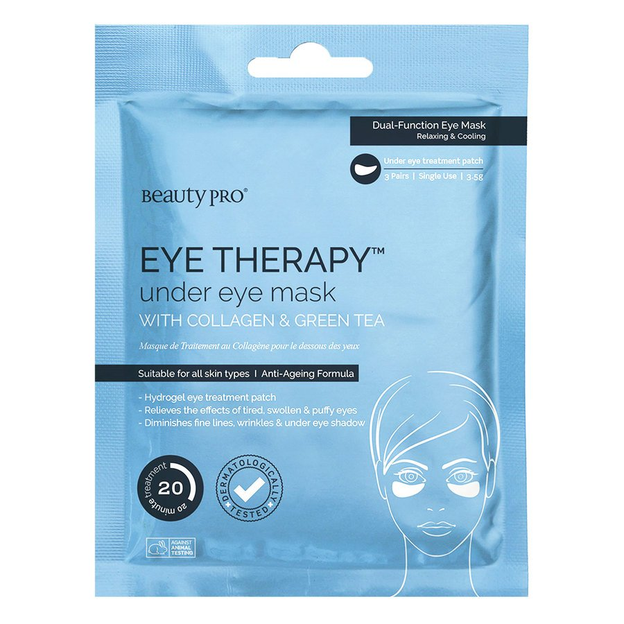 BeautyPro Eye Therapy Collagen Under-eye Mask With Green Tea Extract
