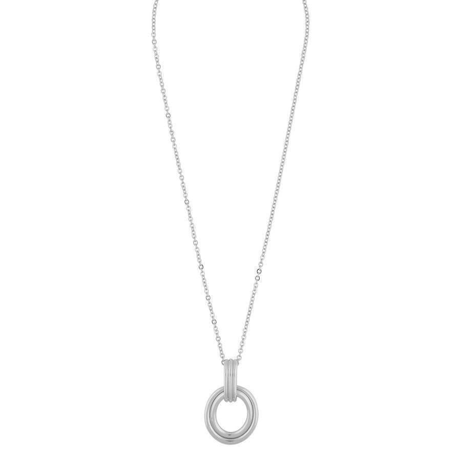 Snö of Sweden Helena Pendant Neck Plain Silver 42cm