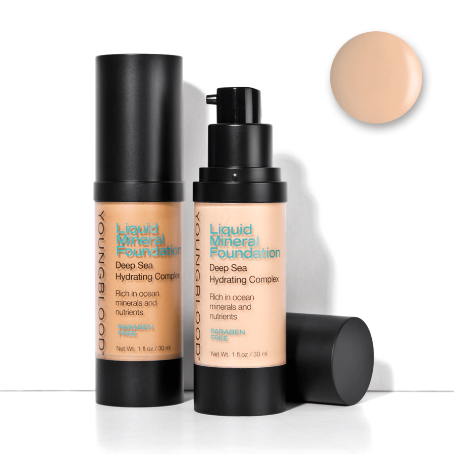 Youngblood Liquid Mineral Foundation (30 ml), Sun Kissed