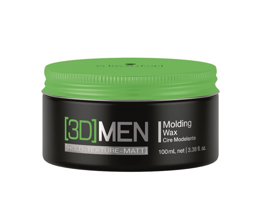 Schwarzkopf 3DMen Medium Hold Wax (100 ml)