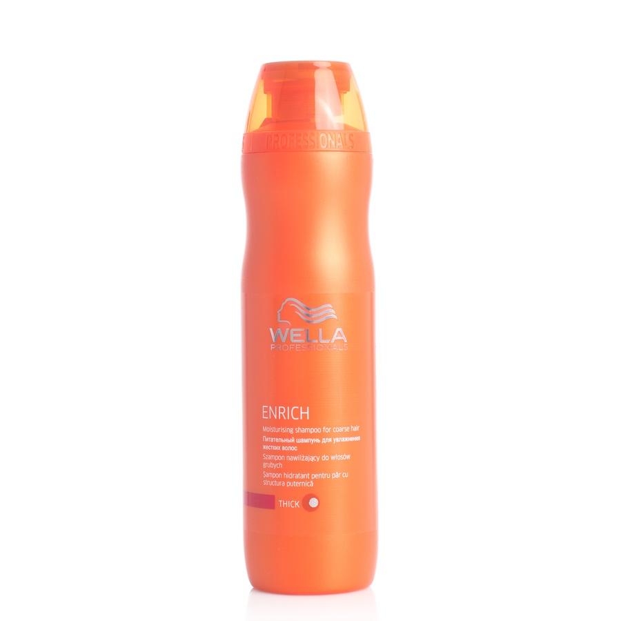 Wella Professionals Enrich Moisturising Shampoo Coarse Hair (250 ml)
