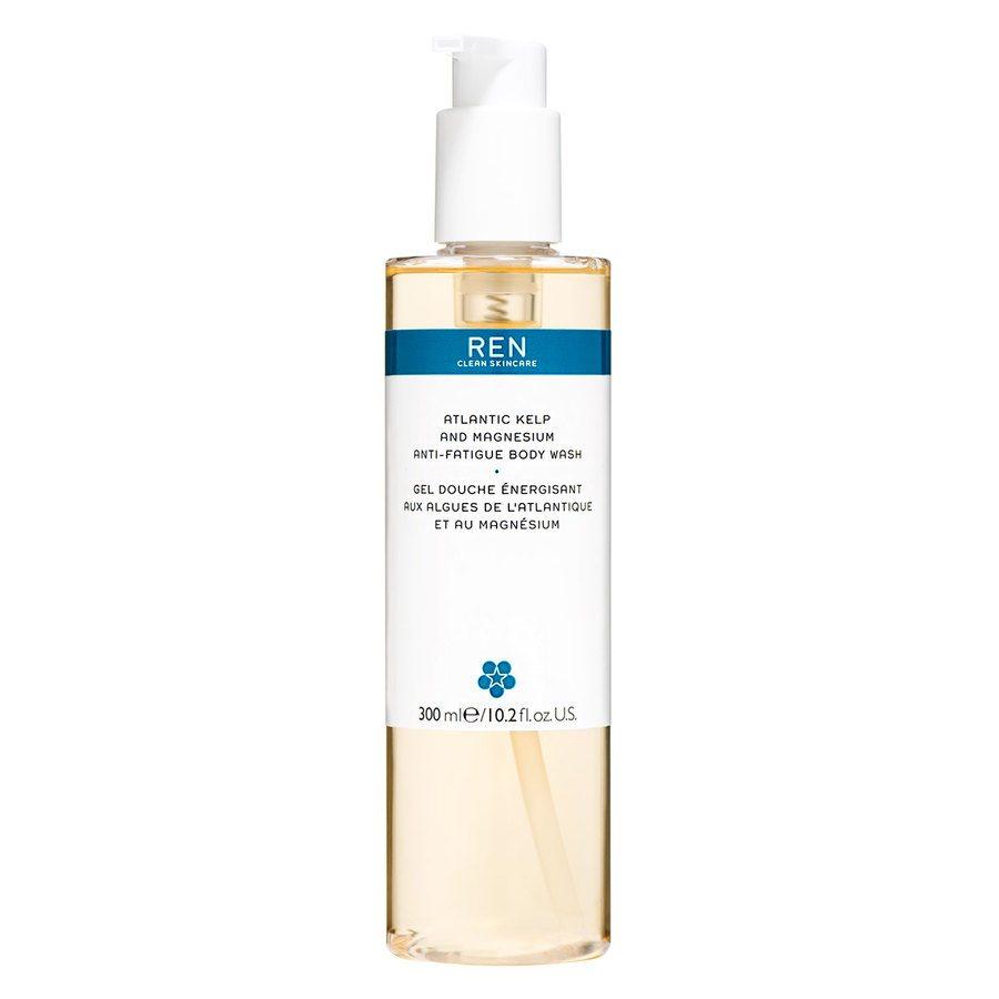 REN Atlantic Kelp And Magnesium Anti-Fatigue Body Wash 300ml