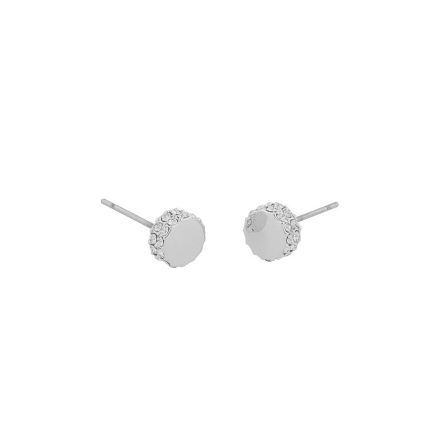 Snö Of Sweden Marly Small Earring, Silver/Clear