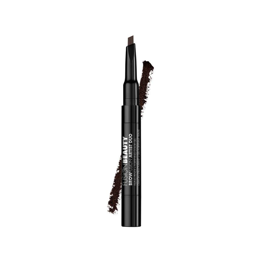 Fusion Beauty BrowFusion Artist Duo Filling Pencil + Color Gel, #Dark Brown (2,9 g)