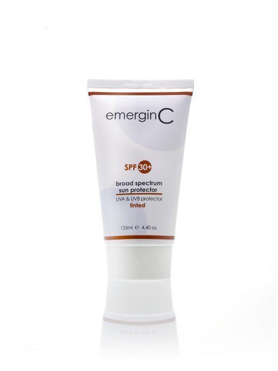 emerginC Sun 30 + Tinted Getönte Sonnencreme (125 ml)