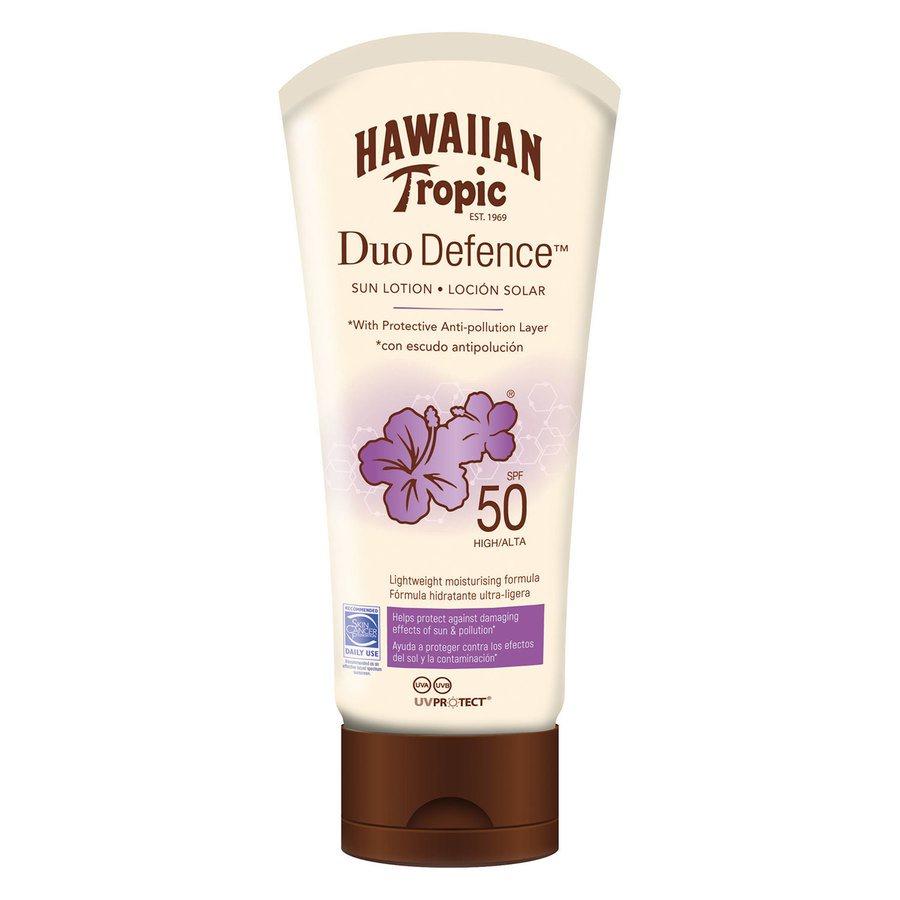 Hawaiian Tropic DuoDefence Sun Lotion SPF50 (180 ml)