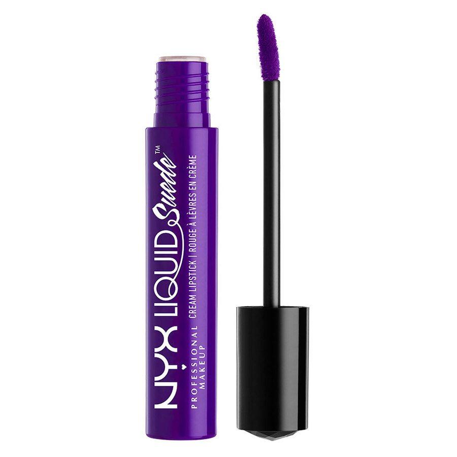 NYX Prof. Makeup Liquid Suede Cream Lipstick Amethyst