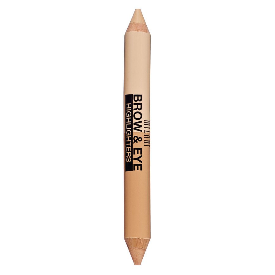 Milani Brow & Eye Highlighter, Matte Beige/High Glow 01