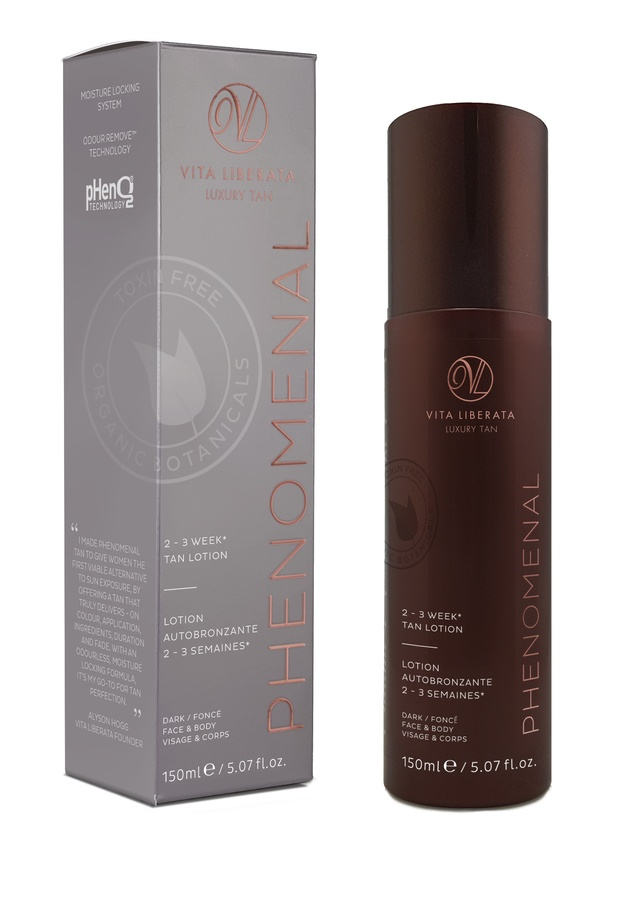 Vita Liberata pHenomenal 2–3 Week Tan Lotion Face & Body Selbstbräuner (150 ml), Dark