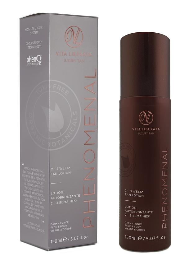 Vita Liberata pHenomenal 2–3 Week Tan Lotion Face & Body Selbstbräuner (150 ml), Dark
