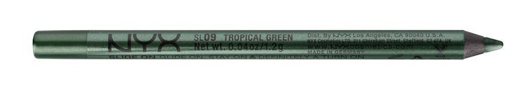 NYX Slide On Pencil Eyeliner, Tropical Green SL09