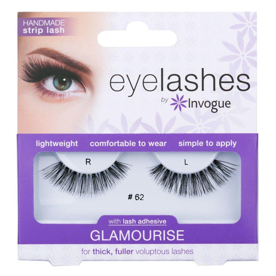 Invogue Eyelashes Glamourise, #62